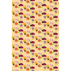 Colorful Ladybug Bess And Flowers Pattern 5.5  x 8.5  Notebooks