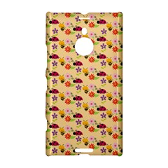 Colorful Ladybug Bess And Flowers Pattern Nokia Lumia 1520