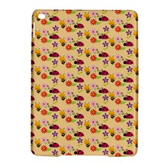 Colorful Ladybug Bess And Flowers Pattern Ipad Air 2 Hardshell Cases