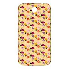 Colorful Ladybug Bess And Flowers Pattern Samsung Galaxy Mega I9200 Hardshell Back Case