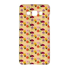 Colorful Ladybug Bess And Flowers Pattern Samsung Galaxy A5 Hardshell Case