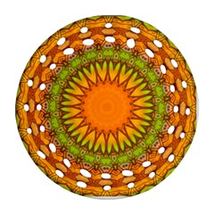 Kaleido Fun 07 Ornament (round Filigree)
