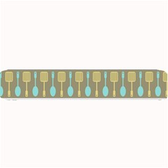 Spatula Spoon Pattern Small Bar Mats