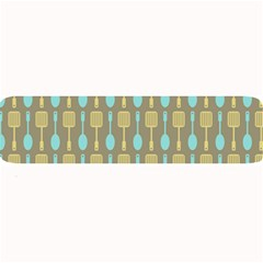 Spatula Spoon Pattern Large Bar Mats