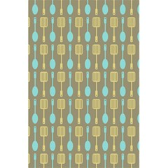 Spatula Spoon Pattern 5.5  x 8.5  Notebooks