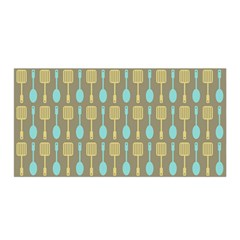 Spatula Spoon Pattern Satin Wrap