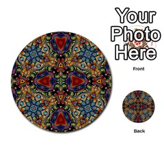 Magnificent Kaleido Design Multi-purpose Cards (Round)