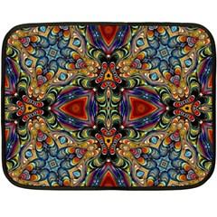 Magnificent Kaleido Design Fleece Blanket (Mini)