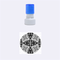 Magnificent Kaleido Design Rubber Round Stamps (Small)
