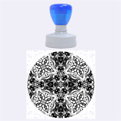 Magnificent Kaleido Design Rubber Round Stamps (Large)