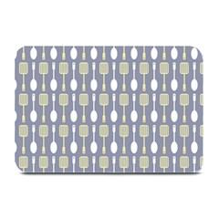 Spatula Spoon Pattern Plate Mats