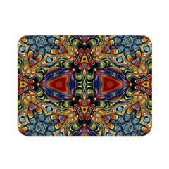 Magnificent Kaleido Design Double Sided Flano Blanket (Mini)