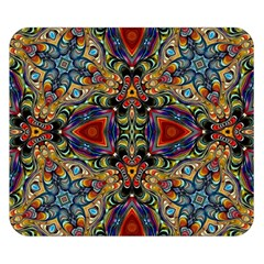 Magnificent Kaleido Design Double Sided Flano Blanket (small)