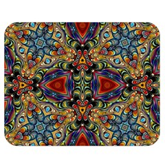 Magnificent Kaleido Design Double Sided Flano Blanket (Medium)