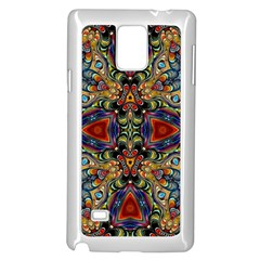 Magnificent Kaleido Design Samsung Galaxy Note 4 Case (White)
