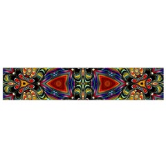 Magnificent Kaleido Design Flano Scarf (Small)