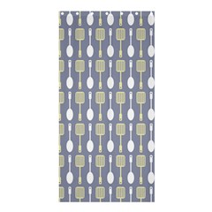 Spatula Spoon Pattern Shower Curtain 36  x 72  (Stall)