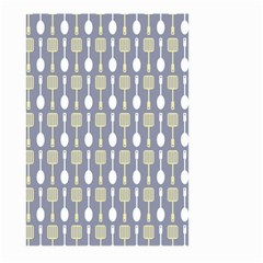 Spatula Spoon Pattern Large Garden Flag (two Sides)