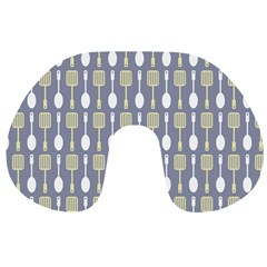 Spatula Spoon Pattern Travel Neck Pillows