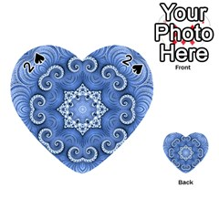 Awesome Kaleido 07 Blue Playing Cards 54 (heart)
