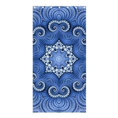 Awesome Kaleido 07 Blue Shower Curtain 36  X 72  (stall)