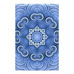 Awesome Kaleido 07 Blue Shower Curtain 48  x 72  (Small)