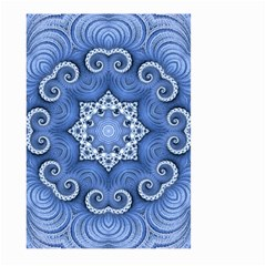 Awesome Kaleido 07 Blue Large Garden Flag (two Sides)