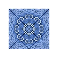 Awesome Kaleido 07 Blue Acrylic Tangram Puzzle (4  x 4 )