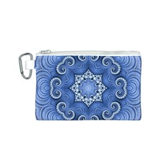 Awesome Kaleido 07 Blue Canvas Cosmetic Bag (s)