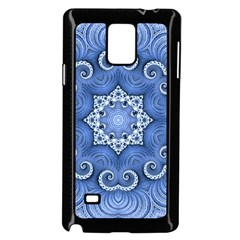 Awesome Kaleido 07 Blue Samsung Galaxy Note 4 Case (Black)