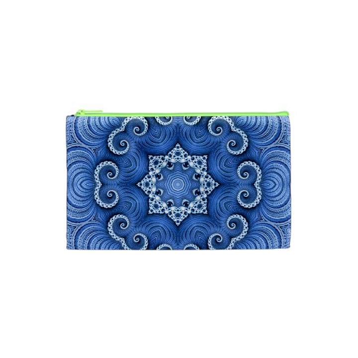 Awesome Kaleido 07 Blue Cosmetic Bag (XS)
