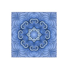 Awesome Kaleido 07 Blue Satin Bandana Scarf