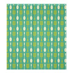 Spatula Spoon Pattern Shower Curtain 66  x 72  (Large)