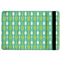 Spatula Spoon Pattern iPad Air 2 Flip