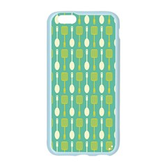 Spatula Spoon Pattern Apple Seamless iPhone 6 Case (Color)