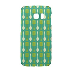 Spatula Spoon Pattern Galaxy S6 Edge