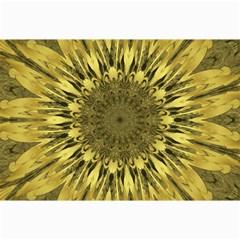 Kaleido Flower,golden Collage 12  X 18