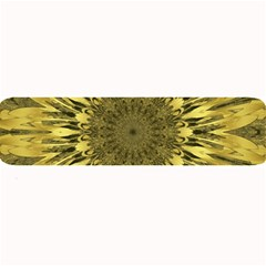 Kaleido Flower,golden Large Bar Mats