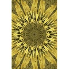 Kaleido Flower,golden 5.5  x 8.5  Notebooks