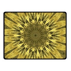 Kaleido Flower,golden Fleece Blanket (small)