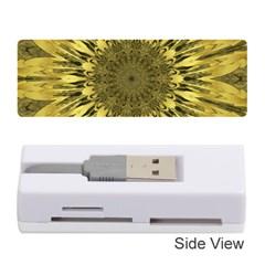 Kaleido Flower,golden Memory Card Reader (Stick)