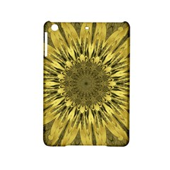Kaleido Flower,golden Ipad Mini 2 Hardshell Cases