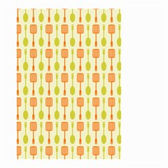 Spatula Spoon Pattern Small Garden Flag (two Sides)