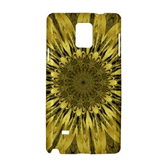 Kaleido Flower,golden Samsung Galaxy Note 4 Hardshell Case