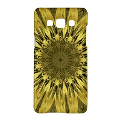 Kaleido Flower,golden Samsung Galaxy A5 Hardshell Case
