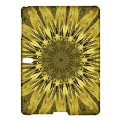 Kaleido Flower,golden Samsung Galaxy Tab S (10.5 ) Hardshell Case