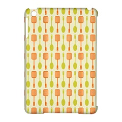 Spatula Spoon Pattern Apple Ipad Mini Hardshell Case (compatible With Smart Cover)