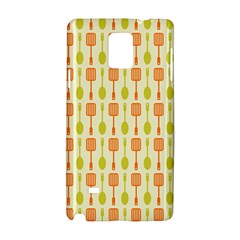 Spatula Spoon Pattern Samsung Galaxy Note 4 Hardshell Case