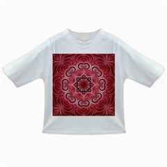 Awesome Kaleido 07 Red Infant/toddler T Shirts