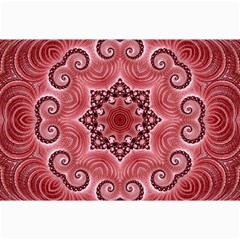 Awesome Kaleido 07 Red Collage 12  x 18